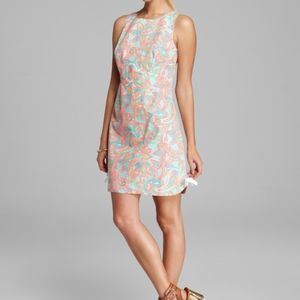 Lilly Pulitzer Delia Dress Sand Bar Make A Splash